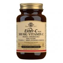 Solgar Ester-C Plus 500 mg Vitamin C Vegetable Capsules - Pack of 50