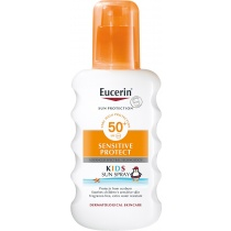 Eucerin Sensitive Protect Kids Sun Spray SPF50+, 200ml