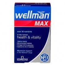 Vitabiotics Wellman Max 84 Capsules