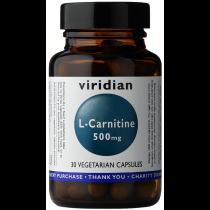 Viridian L-Carnitine 500mg Veg Caps 30caps