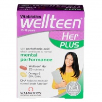 Vitabiotics Wellteen Her Plus 56 Tablets