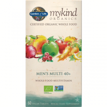 Garden Of Life Mykind Organics Men's 40+ Multi 60tabs