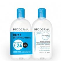 Bioderma Hydrabio H2O 2 x 500ml Special Offer