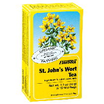 Floradix St John's Wort Organic Herbal Tea 15 filterbags