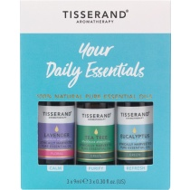 Tisserand Your Daily Essentials Kit 3 x 9ml