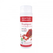 Bentley Organic Natural Shampoo with Pomegranate, Aloe Vera, Olive and Sweet Orange 250ml