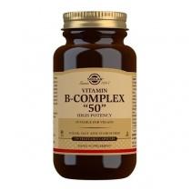 Solgar Vitamin B-Complex ''50'' High Potency Vegetable Capsules - Pack of 250