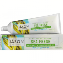 Jason Sea Fresh Anti-Cavity & Strengthening with Fluoride Sea Spearmint Gel Toothpaste 170g