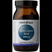 Viridian Alpha Lipoic Acid 200mg Veg Caps 90caps