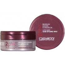 Giovanni 2chic Brazilian Keratin & Argan Oil Ultra-Sleek Hair Styling Wax 57g