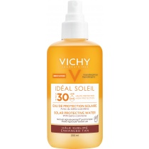Vichy Ideal Soleil Solar Protective Water - Enhanced Tan SPF30, 200ml