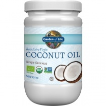 Garden Of Life Superfood Organic Coconut Oil 414ml