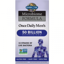 Garden Of Life Microbiome Once Daily Men's 30 Veg Caps