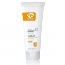 Green People Sun Lotion SPF15 with Suntan Accelerator 200ml