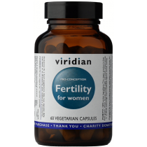 Viridian Fertility for Women PRO CONCEPTION Veg Caps 60caps