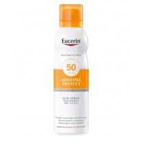 Eucerin Sun Spray Transparent Dry Touch Sensitive Protect SPF50, 200ml