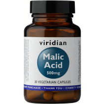 Viridian Malic Acid 500mg Veg Caps 30caps