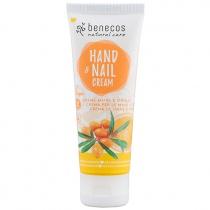 Benecos Natural Hand and Nail Cream Sea Buckthorn and Orange 75ml