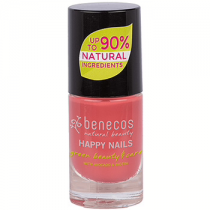 Benecos Happy Nails Nail Polish - Flamingo - 5ml