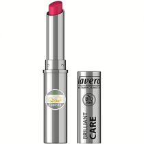 Lavera Trend Brilliant Care Lipstick Q10 - Red Cherry - 1.7g