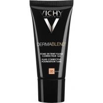 Vichy Dermablend Corrective Fluid Foundation 35 Sand 30ml