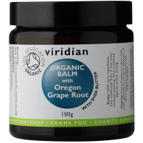 Viridian Oregon Grape Organic Balm 100g