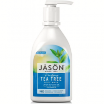 Jason Tea Tree Satin Shower Body Wash With Pump 887ml