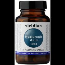 Viridian Hyaluronic Acid 50mg Veg Caps 30caps