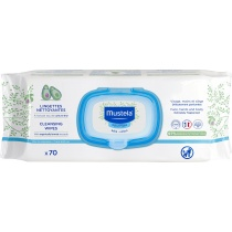 Mustela Baby Nappy Cleansing Wipes 70S