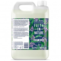 Faith in Nature Tea Tree Shower Gel & Foam Bath 5000ml
