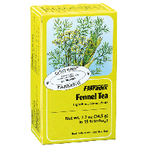 Floradix Fennel Organic Herbal Tea 15 filterbags