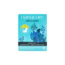 Natracare Ultra Regular Period Pads With Wings 14's