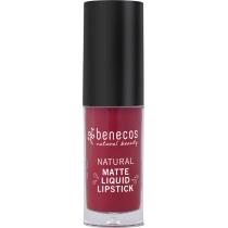 Benecos Natural Matte Liquid Lipstick Bloody Berry  5ml