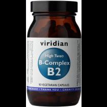 Viridian High Two B-Complex Veg Caps 90caps