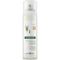 Klorane Oat Milk Dry Shampoo Spray for Brown to Dark Hair 150ml