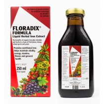 Floradix Liquid Iron,Vitamin and Herbal Formula 250ml