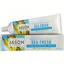 Jason Sea Fresh Antiplaque&Strengthening Sea Spearmint paste Fluoride Free 170g