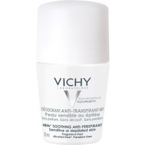 Vichy 48hr Soothing Anti-Perspirant - Sensitive or Depilated Skin 50ml