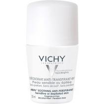 Vichy 48hr Soothing Anti-Perspirant - Sensitive or Depilated Skin 50ml