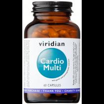 Viridian Cardio Multivitamin Veg Caps 60caps