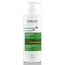 Vichy Dercos Anti-Dandruff Advanced Action Shampoo for Itchy Scalp, Dry Hair 390ml