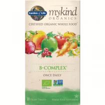 Garden Of Life Mykind Organics Vitamin B Complex 30tabs
