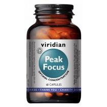 Viridian Peak Focus Veg Caps 60 Caps