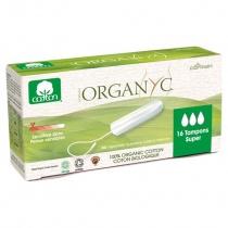Organyc Organic Cotton Tampons Super - 16 per pack