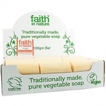 Faith in Nature Orange Soap 18 x 100g