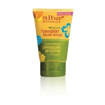 Alba Botanica Hawaiian Pineapple Enzyme Facial Scrub 118ml