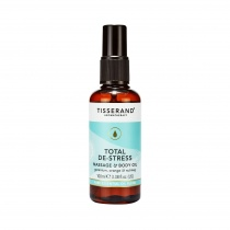 Tisserand Total De-Stress Body Massage Oil 100ml