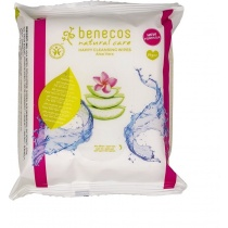 Benecos Natural Care Happy Cleansing Wipes 25 Wipes