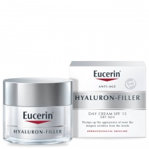 Eucerin Hyaluron-Filler Day Cream SPF15 (Dry Skin) 50ml