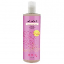 Alana Pink Rose & Vanilla Natural Body Wash 400ml
